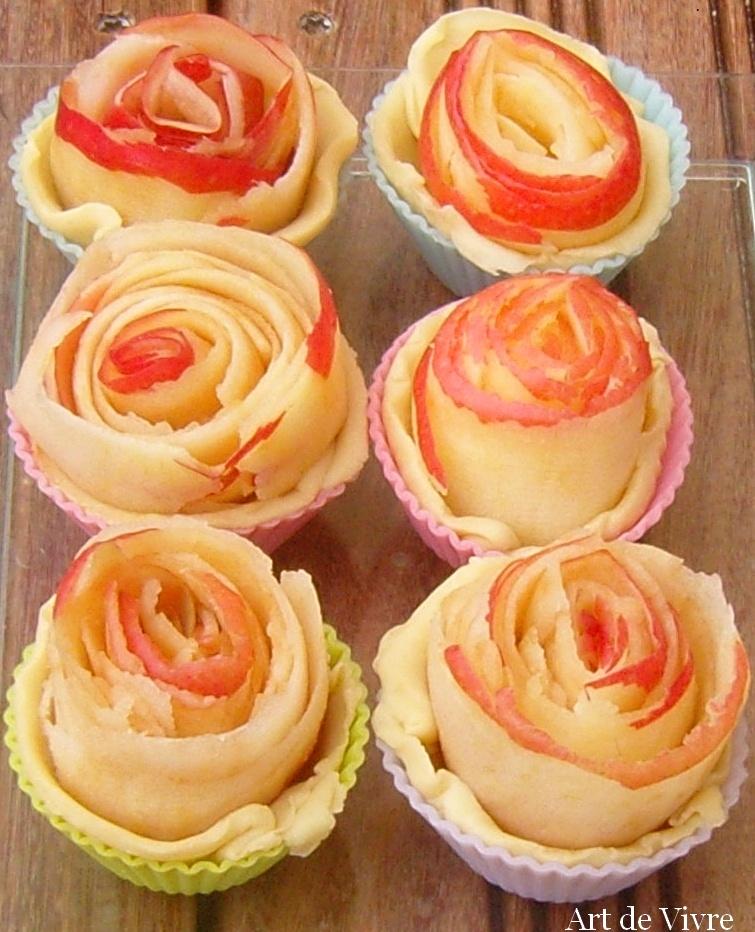 Mignardises tarte à la rose alain passard crues