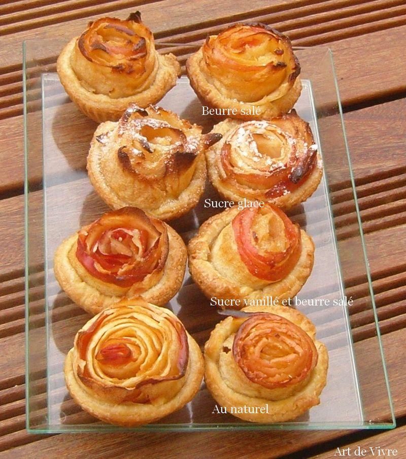 Mignardises tarte à la rose alain passard commentées
