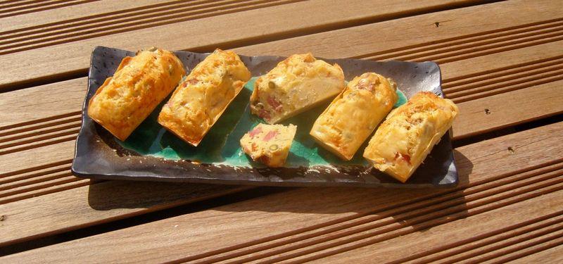 Cake au Jambon et aux pistaches