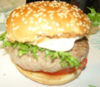Hamburger Veau Mozarella