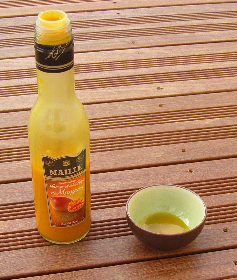 Vinaigre à la mangue Maille