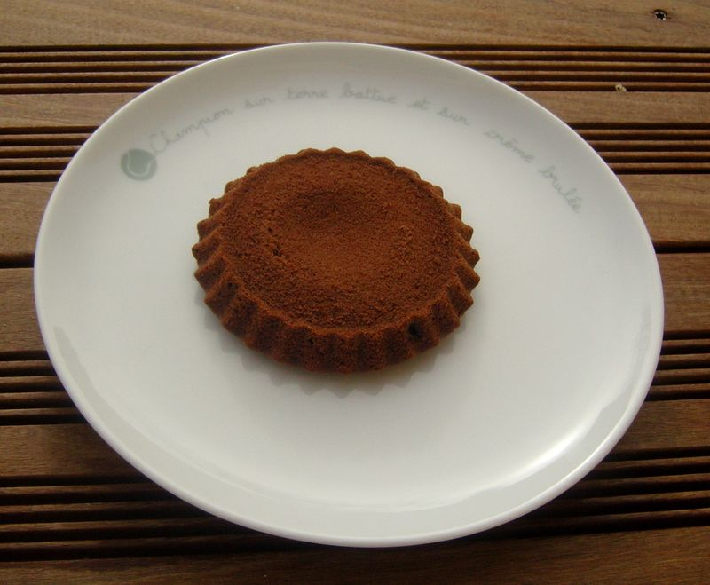 Biscuit coulant au chocolat de Cyril LYGNAC photo1