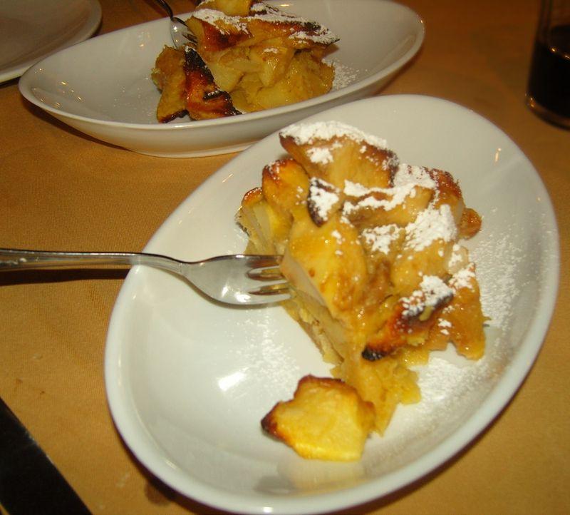 Hosteria Il Castelletto tarte aux pommes