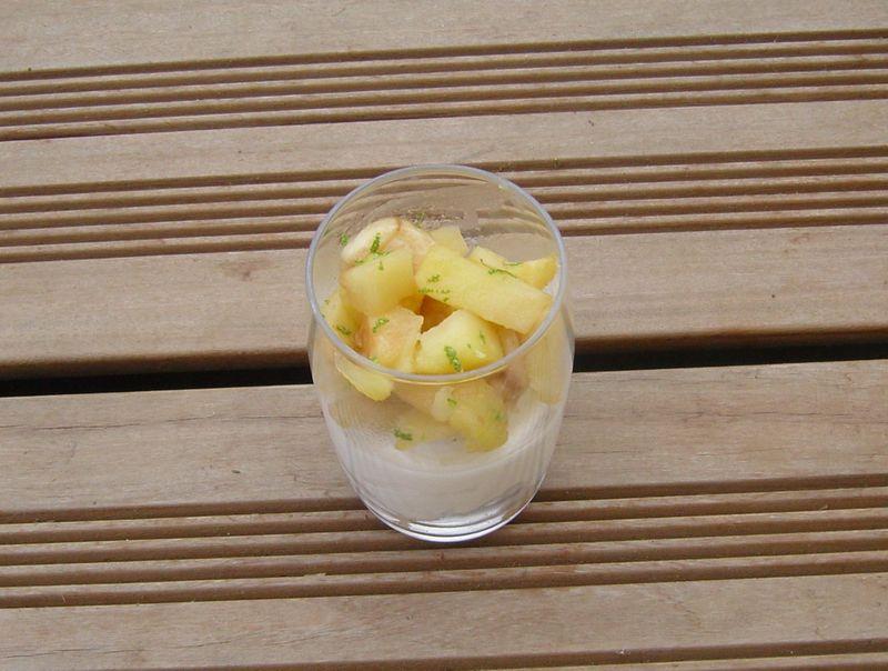 Triffle PetitsBeurres Mascarpone PommesBananes
