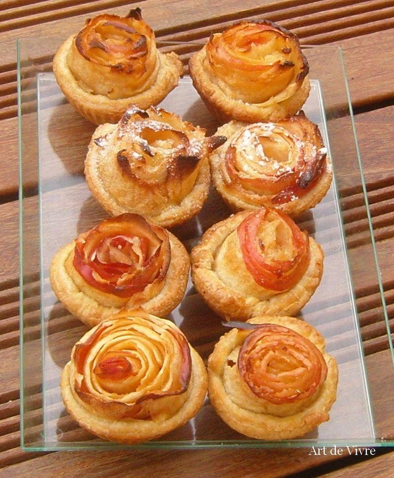 Mignardises tarte à la rose alain passard