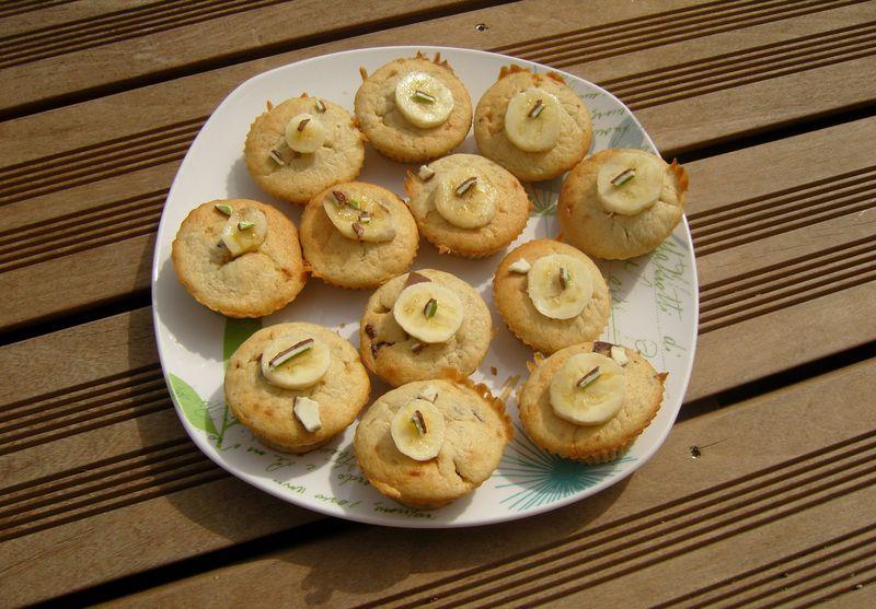 Muffins Kinder Banane