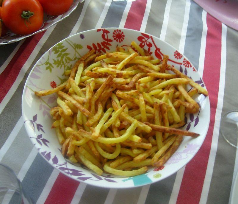 Frites légères