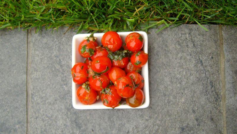 Tomates Cerises aux herbes
