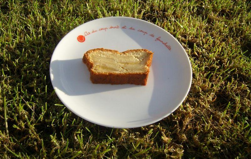 Cake Pommes Vanille Mascarpone