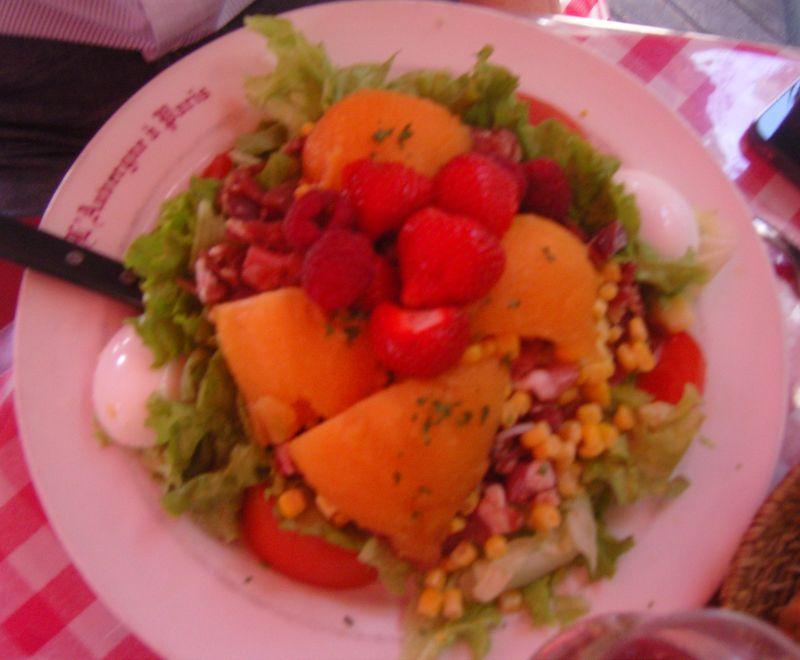 L' Auvergne à Paris Salade