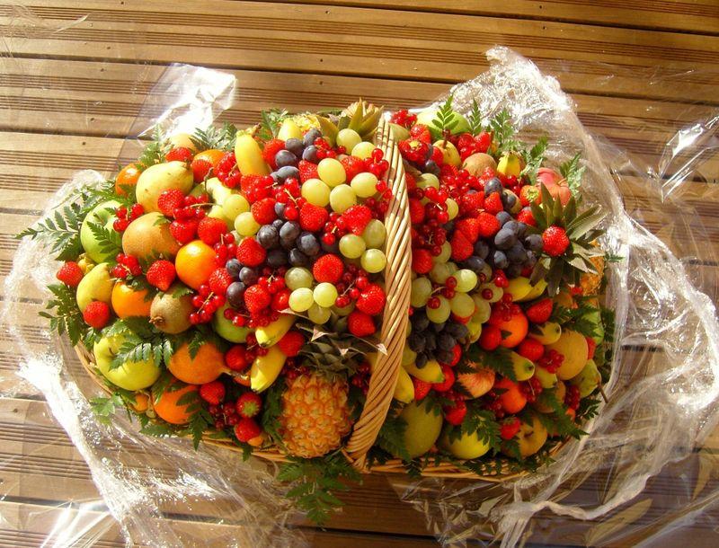 Panier de fruits concours Noilly Prat