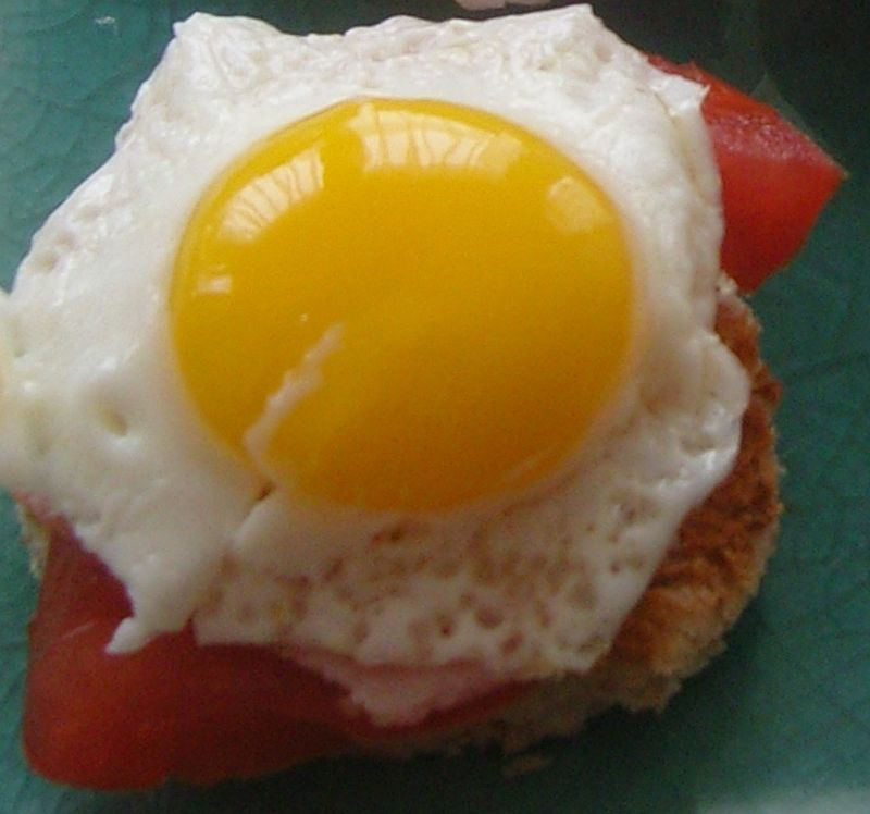 Mini Croque Madame 4 fromages