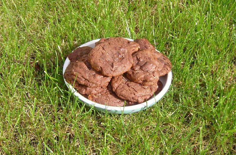 Cookies tout chocolat toblerone noir v1