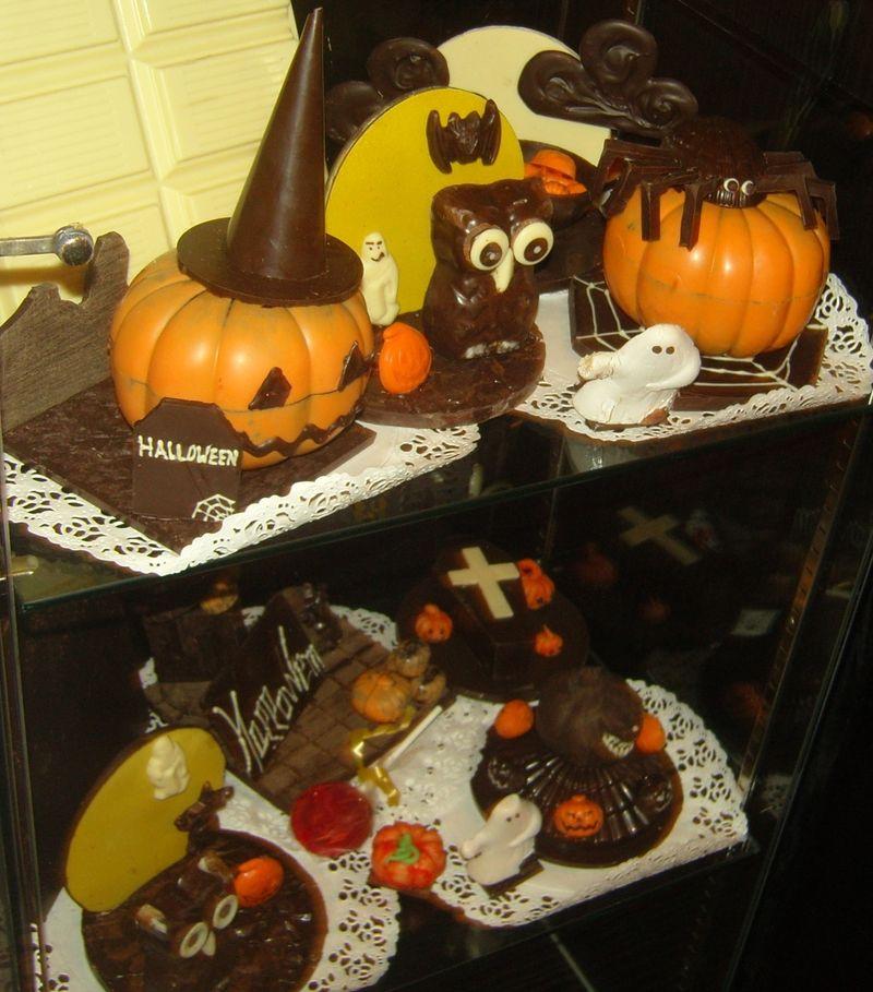 Halloween en chocolat
