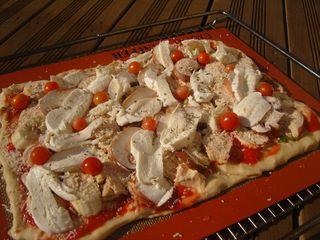 Pizza du Dimanche crue