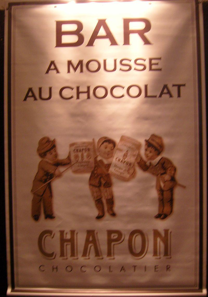 Bar a mousse au chocolat