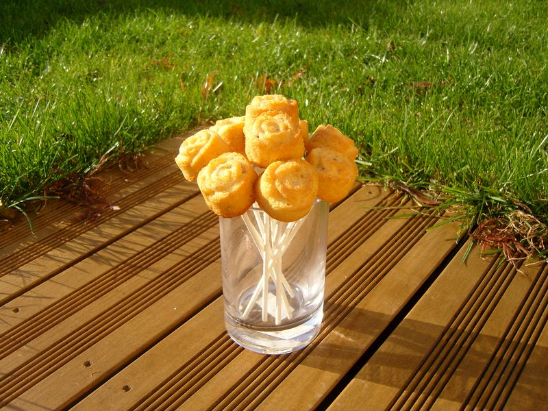 Bouquet de roses de noix