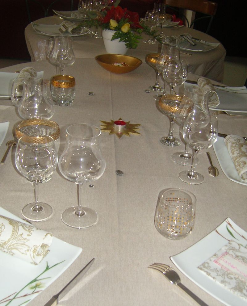 Déco Or - table 3