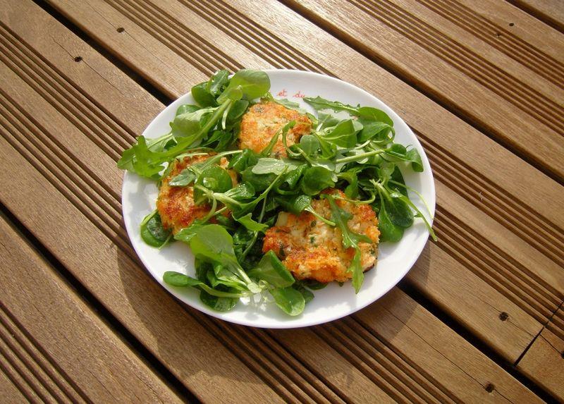Galettes de Saumon par Jamie Oliver