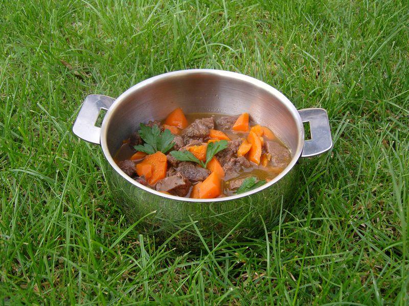 Joues de Boeuf aux carottes et au chocolat