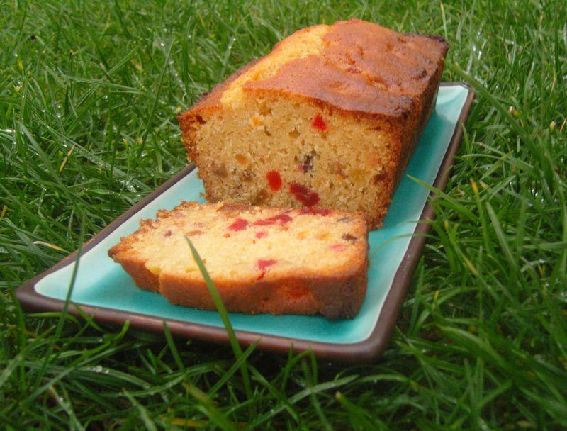 Cake aux fruits confits ou pas inspiré par Christophe Felder