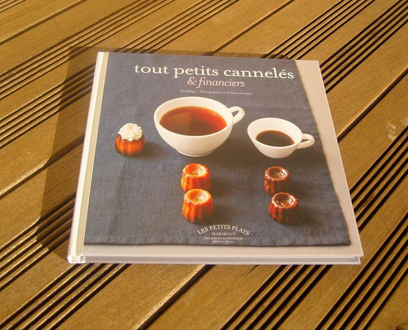 Livre Tout petits cannelés et Financiers Marabout Cuisine