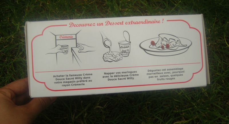 Dessert Suisse Meringues Sacre Willy