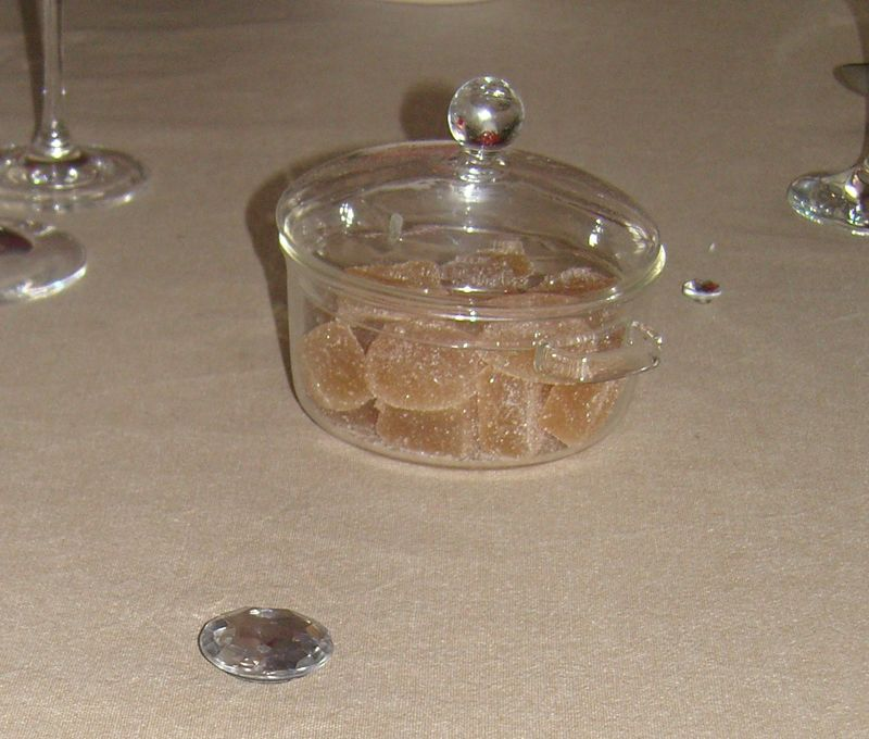 Déco Or - Pates de fruits & diamants