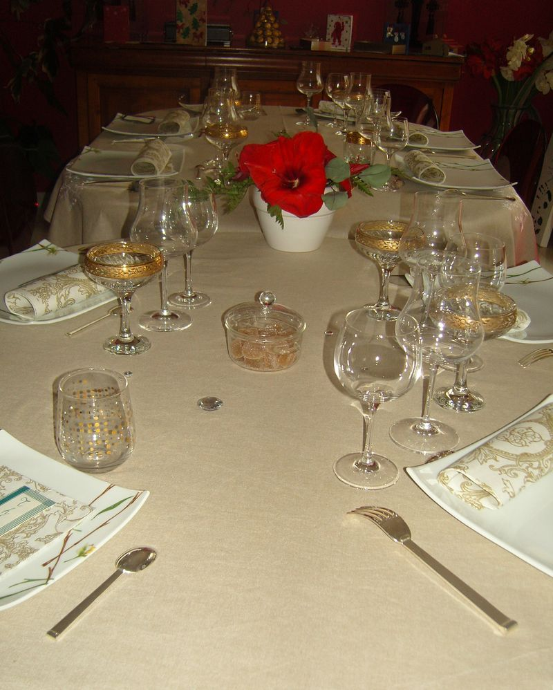 Déco Or - table