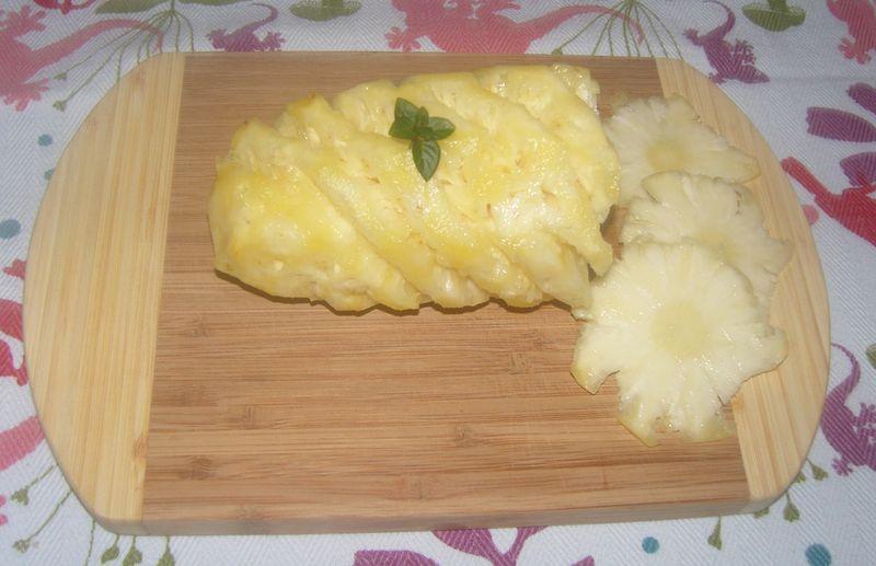 Ananas Victoria Découpé