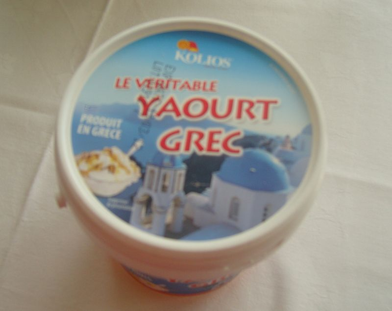 Yaourt à la Grec Pot