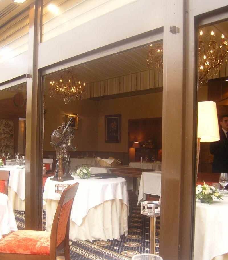 Charles Barrier Salle du Restaurant