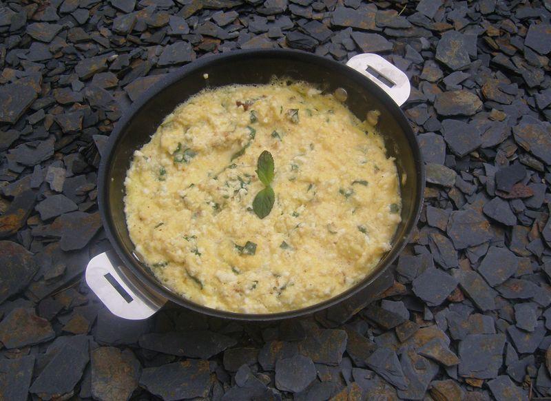 Omelette Menthe Bruccio
