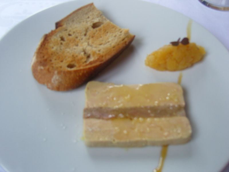 Les étangs de Corot Entrée foie gras