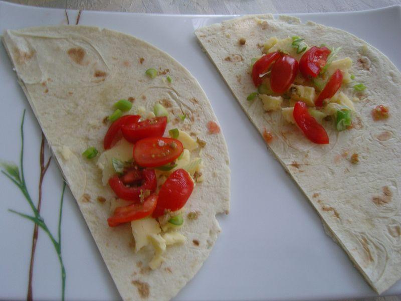 Quesadillas au Cheddard Blanc Fermier