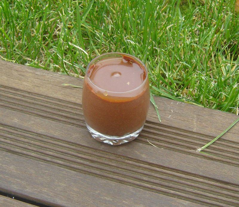 Triffle Chocolat Meringue Caramel au beurre salé