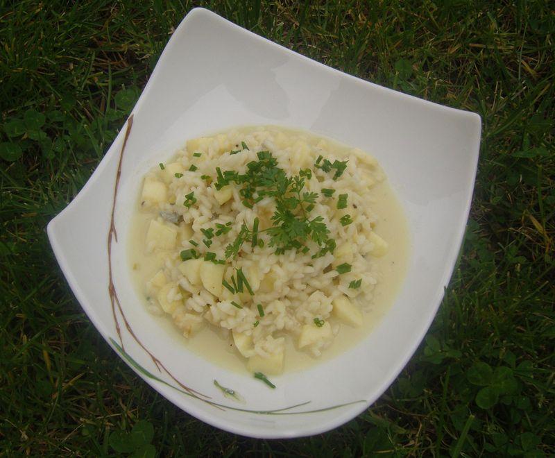 Risotto Pommes Gorgonzola
