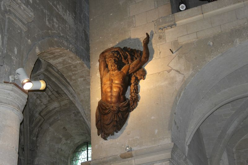 Abbaye ZOOM sculture